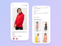 Mobile Product Page