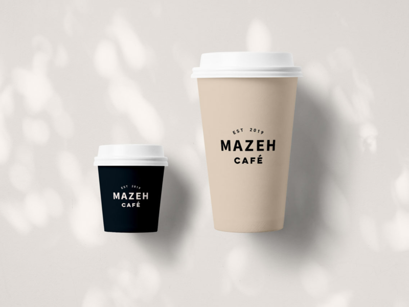 Branding coffee cups design visual  identity branding design telaviv minimalism natural cups cafe coffee branding