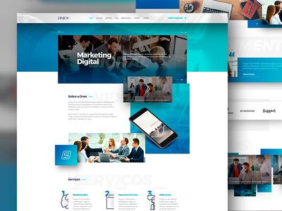 Onex Digital Agency Website