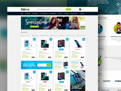 Topou Layout Site E-commerce