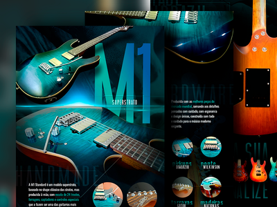 SGT Guitars Website Product Page