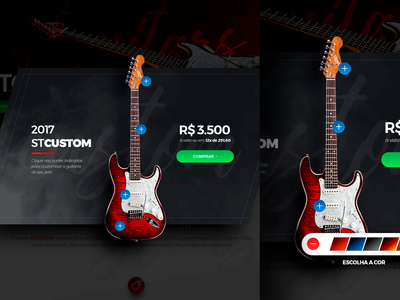 SGT Guitars Custom Panel
