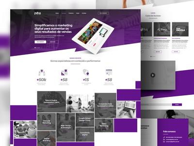 Pilha Digital Site Proposal #2