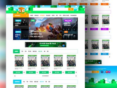 Geek Compras Site Ecommerce