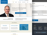 Lawfirm Web Re-Design