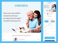 Neveo Mobile Landing Page