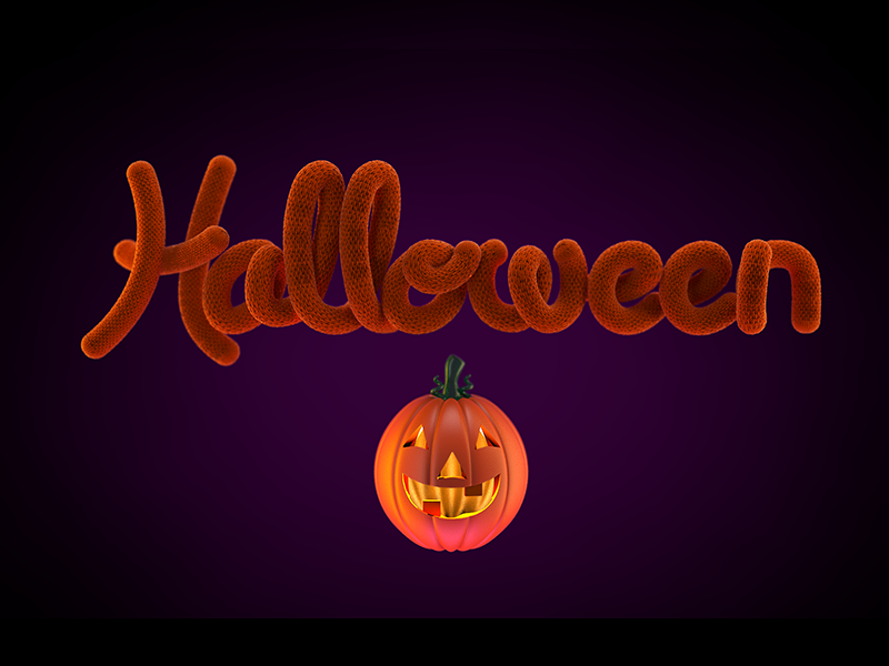 Halloween pumpkin graphicdesign illustration sketch halloween 3d digitalart textures render photoshop cinema 4d c4d