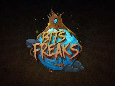 Bits Freaks ilustration logo