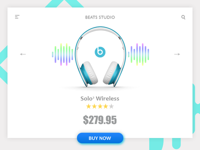 Product Page product design web design head phones product page