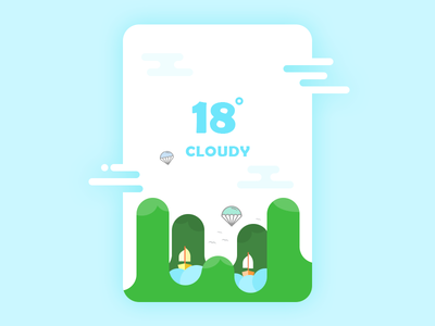 Weather app design product design illustration rainy widgets weather widget weather reports weather cloudy