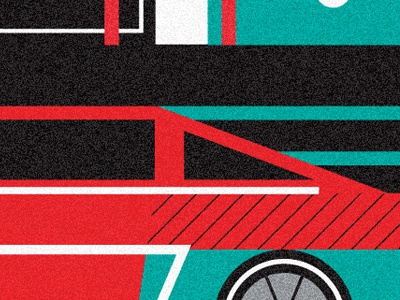 Movie Poster Coming Soon illustration vector texture pinto car