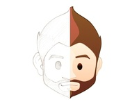New avatar 2013 from pencil to vectors