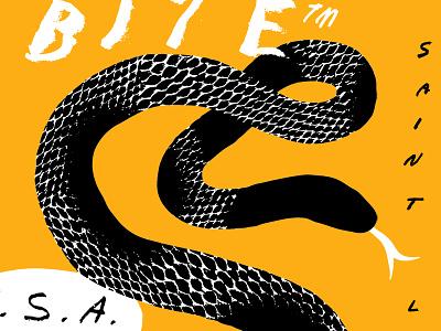 Snake Crop texture snake illustration