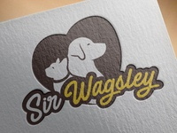 Pet Animal Logo - Sir Wagsley