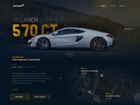 Mclaren 570 GT Website
