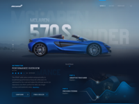 Mclaren 570s Spider Website