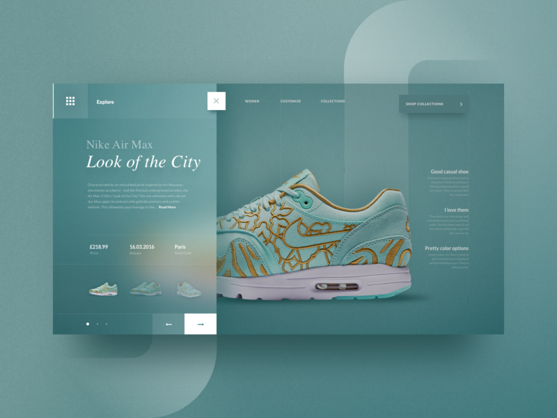 Look Of The City logo branding colorful minimal simple clean ui interaction app checkout cart store product landing page ecommerce shoe nike header website