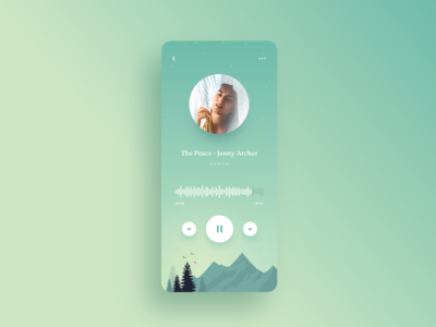 Peaceful Music Player