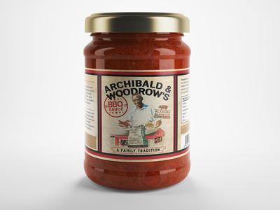 Label design for BBQ Sauce