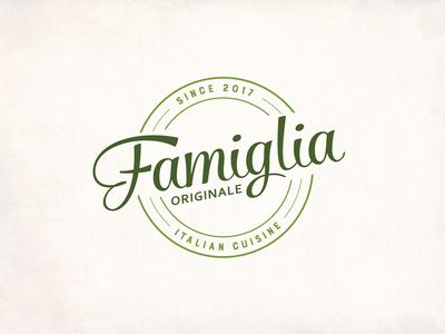 Logo design for Famiglia Originale