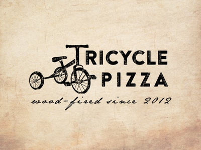 Logo design for Tricycle Pizza V_2