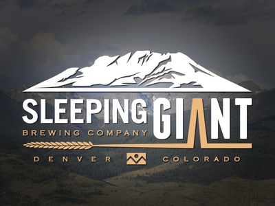 Logo design for Sleeping Giant Brewing Co.