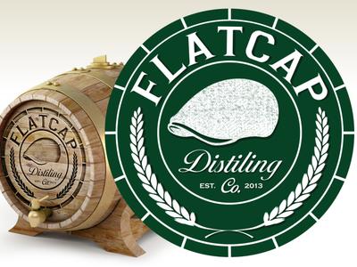 Logo design for Flatcap Distillery