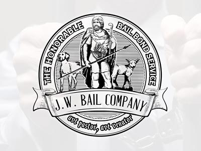 Logo design for J.W. Bail Company -  bail bond service