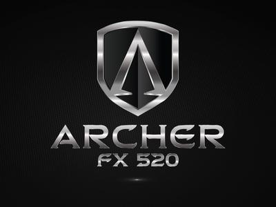 Logo for Mustang Concept Car Archer FX 520