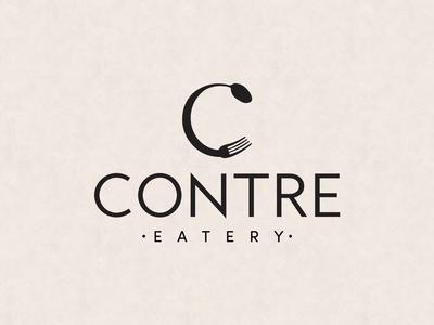 Logo design for Restaurant Contre