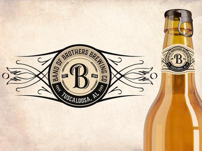 Logo / Neck Label Design for Brewing Co.