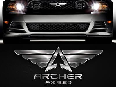 Logo for Mustang Concept Car Archer FX 520 (ver2)