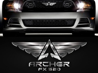 Logo for Mustang Concept Car Archer FX 520 (ver2)