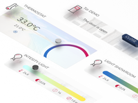 Interface Design for a Smart Office app