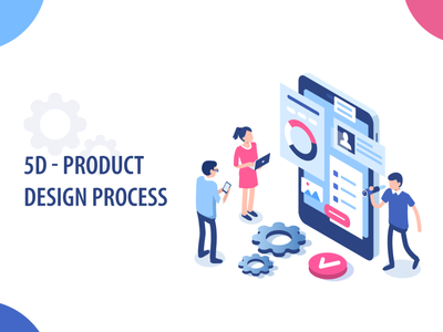 5D - Product Design Process process product design design flow ui ux design wireframe usability design thinking design process design website design typography design systems visual design user experience (ux) information architecture user interface designer