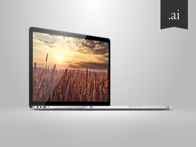 MacBook Pro 2013 Vector