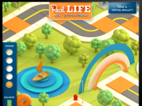PNC - Real Life with Virtual Wallet iAd game for iPad