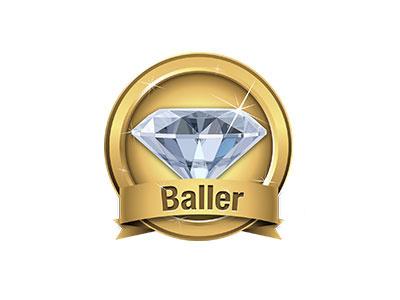Baller Badge baller badge sticker persona