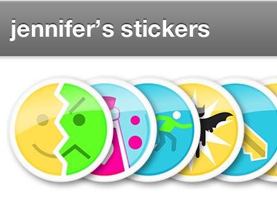 Stickers stickers stack badges badge rewards