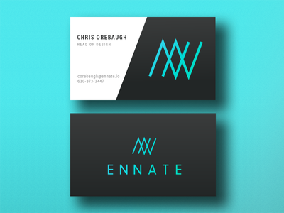 Ennate Business Card business card branding