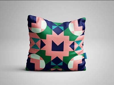 Scandinavian Pillows graphic design illustrator textile design illustration