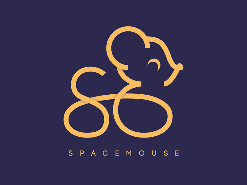 SpaceMouse Submission moon lighthouse london photoshop illustrator spacemouse mouse space typehue