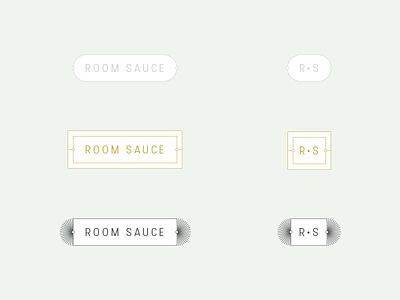 RoomSauce interior design logo branding blog