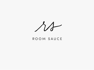 RoomSauce interiors blog branding