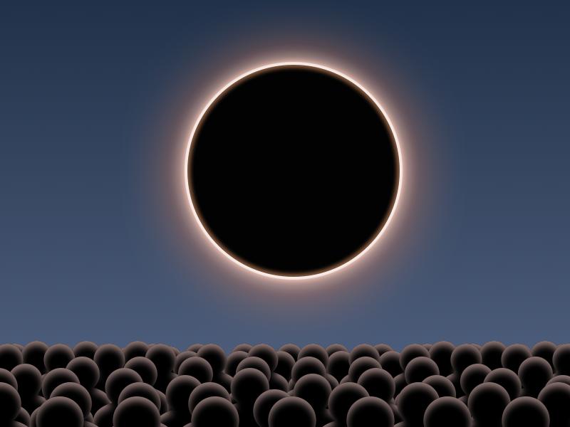 Happy Eclipse Weekend sketch eclipse