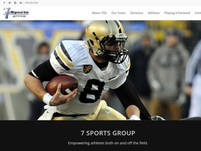 7 Sports Group web development web design wordpress