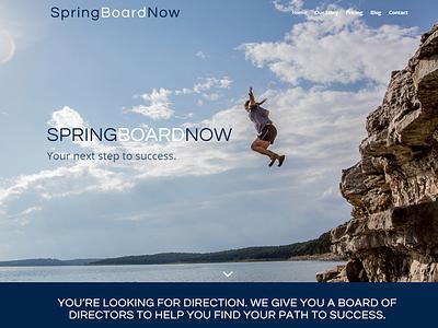 Springboard web development web design wordpress