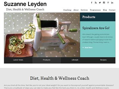 Suzanne Leyden web development web design wordpress