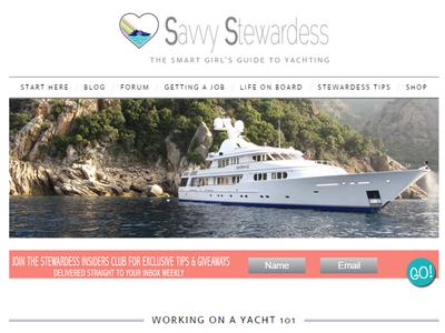 Savvy Stewardess wordpress