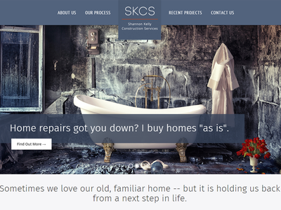 Shannon Kelly Construction Services web development web design wordpress